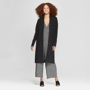 Women's Open Cardigan Sweater - A New Day™ Bl - XS